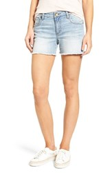 Kut From The Kloth Women's Gidget Frayed Denim Shorts