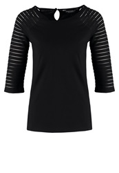 Dorothy Perkins Long Sleeved Top Black
