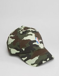 Mitchell And Ness Adjustable Cap Nba Logo Green