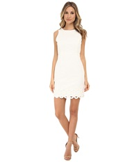 Kut From The Kloth Evelyn Sleeveless Pencil Dress White Women's Dress