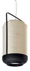 Lzf Chou Tall Suspension Ivory White Small E26 Base White Brown Blue