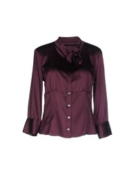 Massimo Rebecchi Shirts Shirts Women Deep Purple