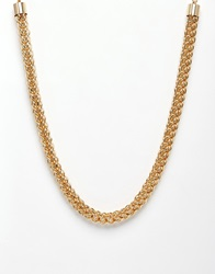 Paper Dolls Chunky Chain Necklace Gold