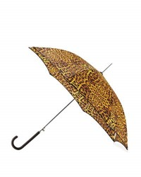 Shedrain Cheetah Print Auto Open Stick Umbrella Leopard