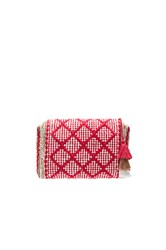 Amuse Society Bag Of Tricks Clutch Red