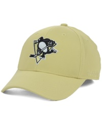 Reebok Pittsburgh Penguins Nhl Hat Trick 2.0 Cap Gold