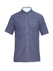 Patrik Ervell Striped Short Sleeved Shirt