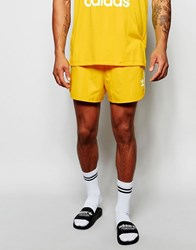 Adidas Originals Retro Shorts Aj6935 Yellow