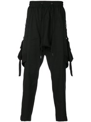 D.Gnak Loose Fit Trousers Black