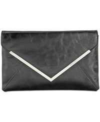 Inc International Concepts Lily Glazed Clutch Only At Macy's Black