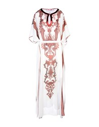 Gai Mattiolo Long Dresses White