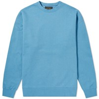 Beams Plus Crew Sweat Blue
