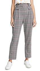 Laveer Pleat Front Trousers Grey