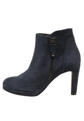 Pier One Ankle Boots Blue Dark Blue