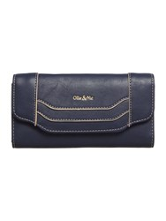 Ollie And Nic Erin Large Flapover Purse Navy