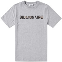 Billionaire Boys Club Stencil Logo Tee Grey