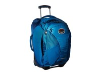 Osprey Meridian 22 60L Lagoon Blue Carry On Luggage Multi