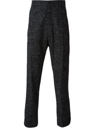 Damir Doma Tweed Style Trousers Grey