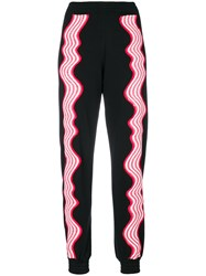 House Of Holland Hypnotic Track Pants Black