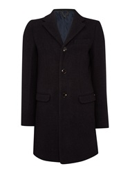 Scotch And Soda Single Breasted Coat Charcoal
