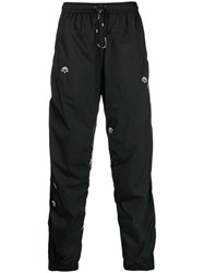 Adidas By Alexander Wang Originals Drop Crotch Track Trousers Black