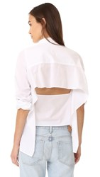 Cheap Monday Airy Shirt White