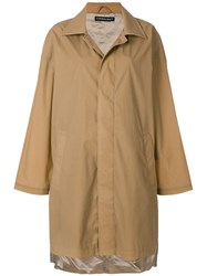 Y Project Single Breasted Coat Brown