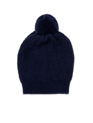 Stella Mccartney Ribbed Knit Bobble Hat