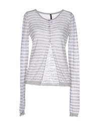 Amy Gee Knitwear Cardigans Women Light Grey
