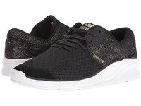 Supra Noiz Black Gold White Women's Skate Shoes