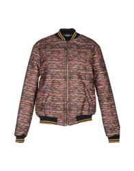 Uncode Jackets Brick Red