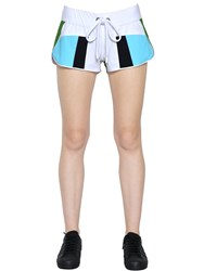 No Ka' Oi Honi Patchwork Nylon Shorts