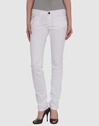 Dek'her Denim Pants White