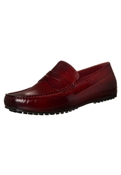 Melvin And Hamilton Driver Slipons Crust Red