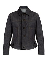 Yohji Yamamoto Regulation Patch Pocket Denim Jacket Indigo