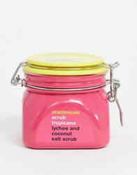 Anatomicals Scrub Tropicana Coconut And Lychee Salt Body Scrub No Colour