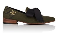 Esquivel Liz Canvas Loafers Md. Green