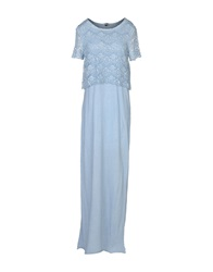 Cycle Long Dresses Sky Blue