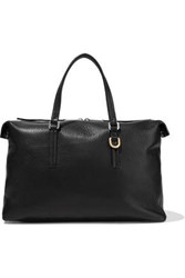 Rick Owens Woman Day Pebbled Leather Tote Black