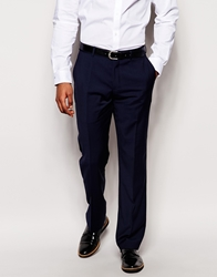 Dkny Classic Fit Suit Trousers Navy