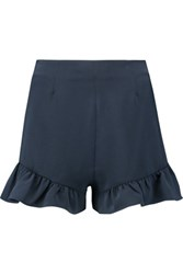 Elizabeth And James Kirsten Crepe Shorts Storm Blue