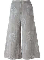 Alice Waese Embroidered Christie Trousers Grey