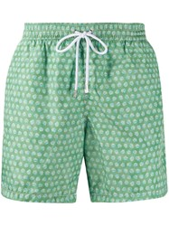 Barba Swimming Shorts Green