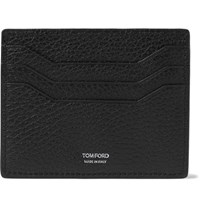 Tom Ford Full Grain Leather Cardholder Black
