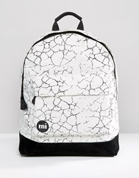 Mi Pac Cracked Backpack White White