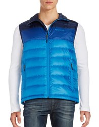 Marmot Colorblocked Quilted Puffer Vest Skyline