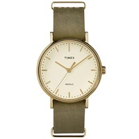 Timex Weekender Fairfield 37Mm Watch Green