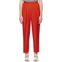 A.P.C. Red Cheryl Trousers