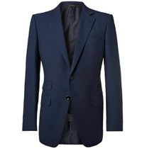 Tom Ford Navy O'connor Slim Fit Wool Suit Jacket Navy