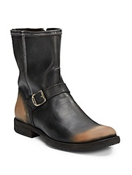 Frye Phillip Leather Moto Boots